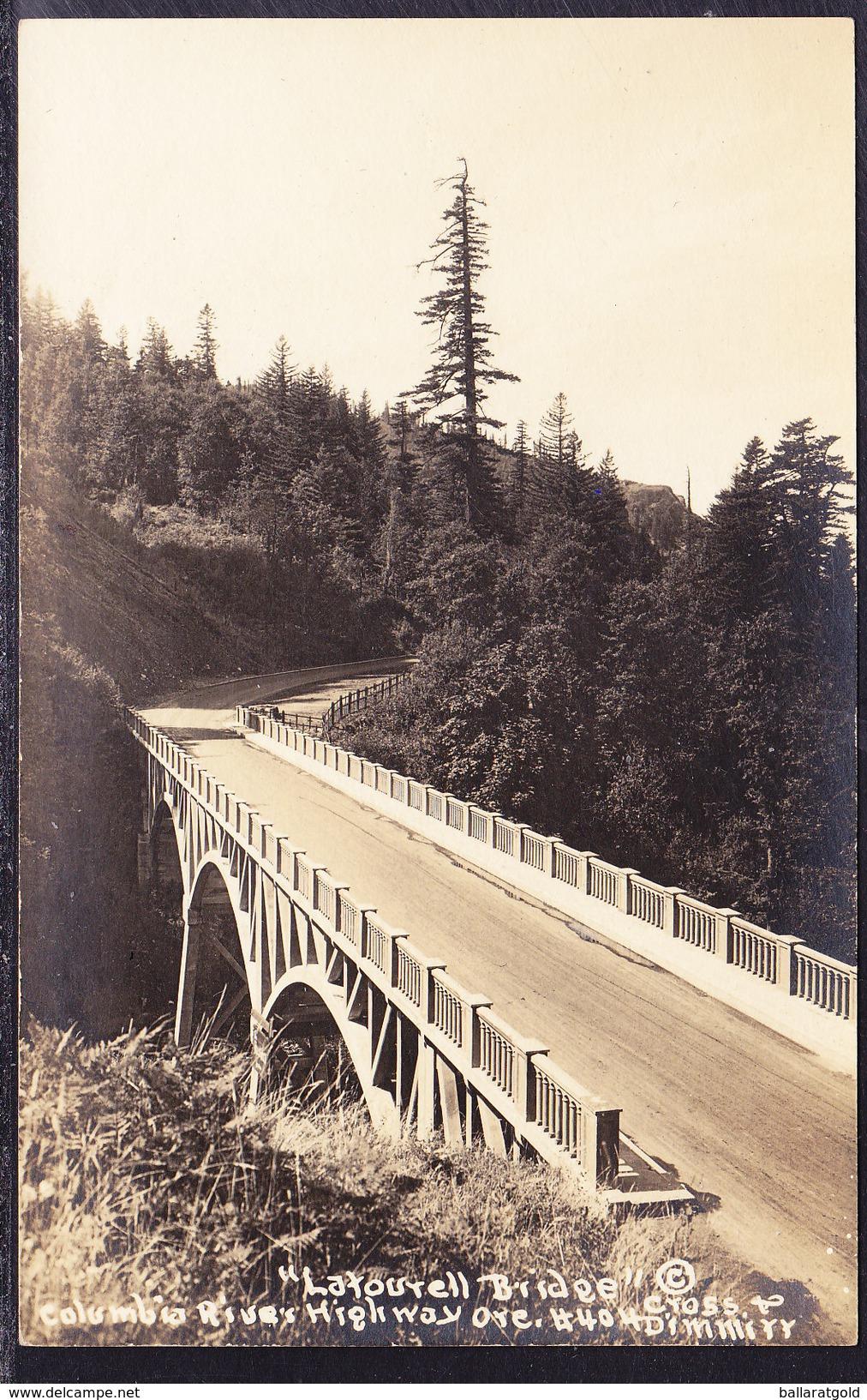 USA C1913 - Latourell Bridge, Columbia River Highway California - Unused #404 - San Francisco