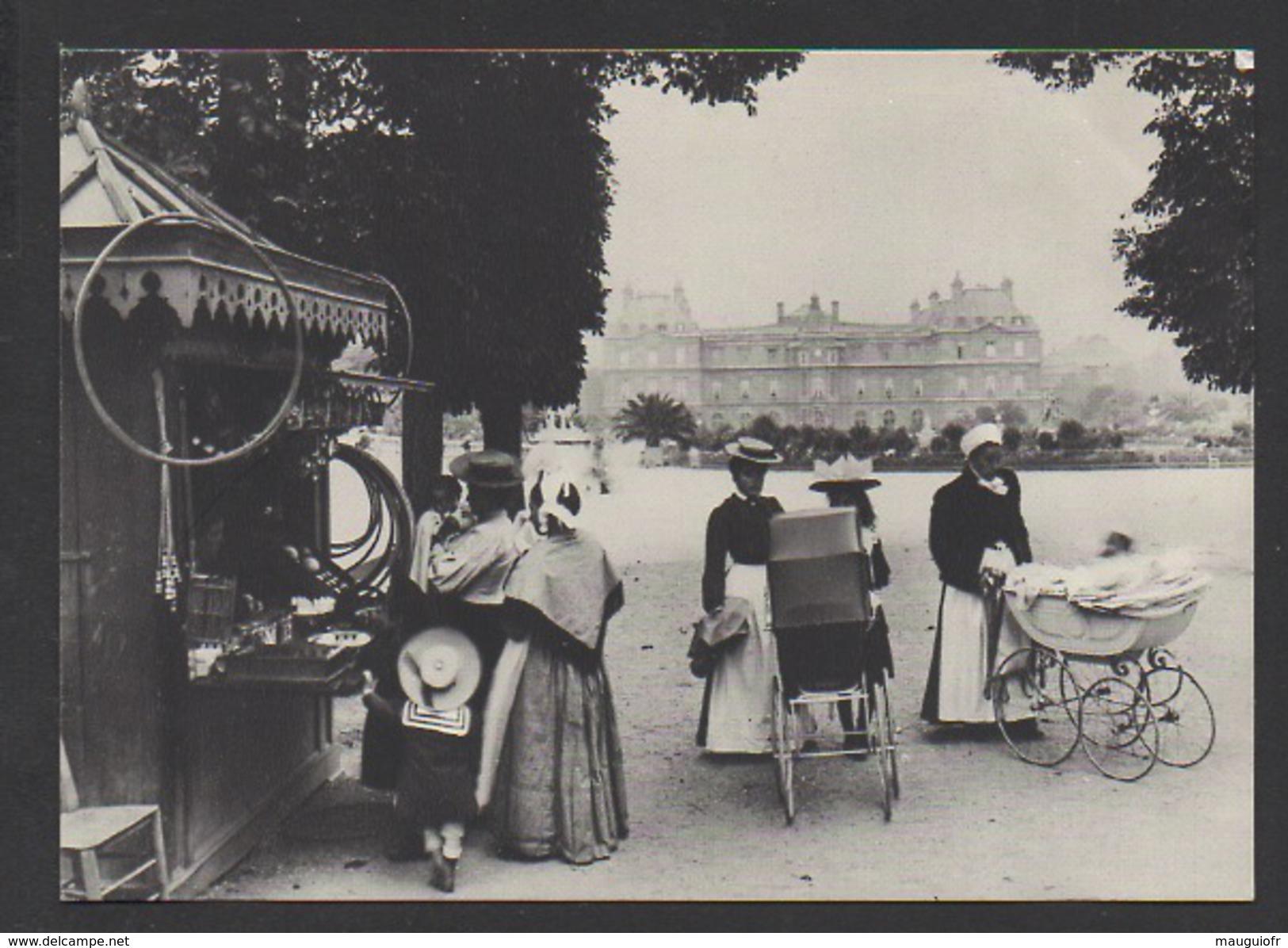 DF / 75 PARIS / EN 1900 NURSES AU JARDIN DU LUXEMBOURG - Parks, Gardens