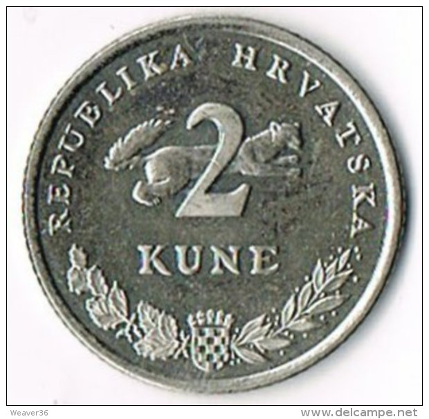 Croatia 2011 2 Kuna - Croatia