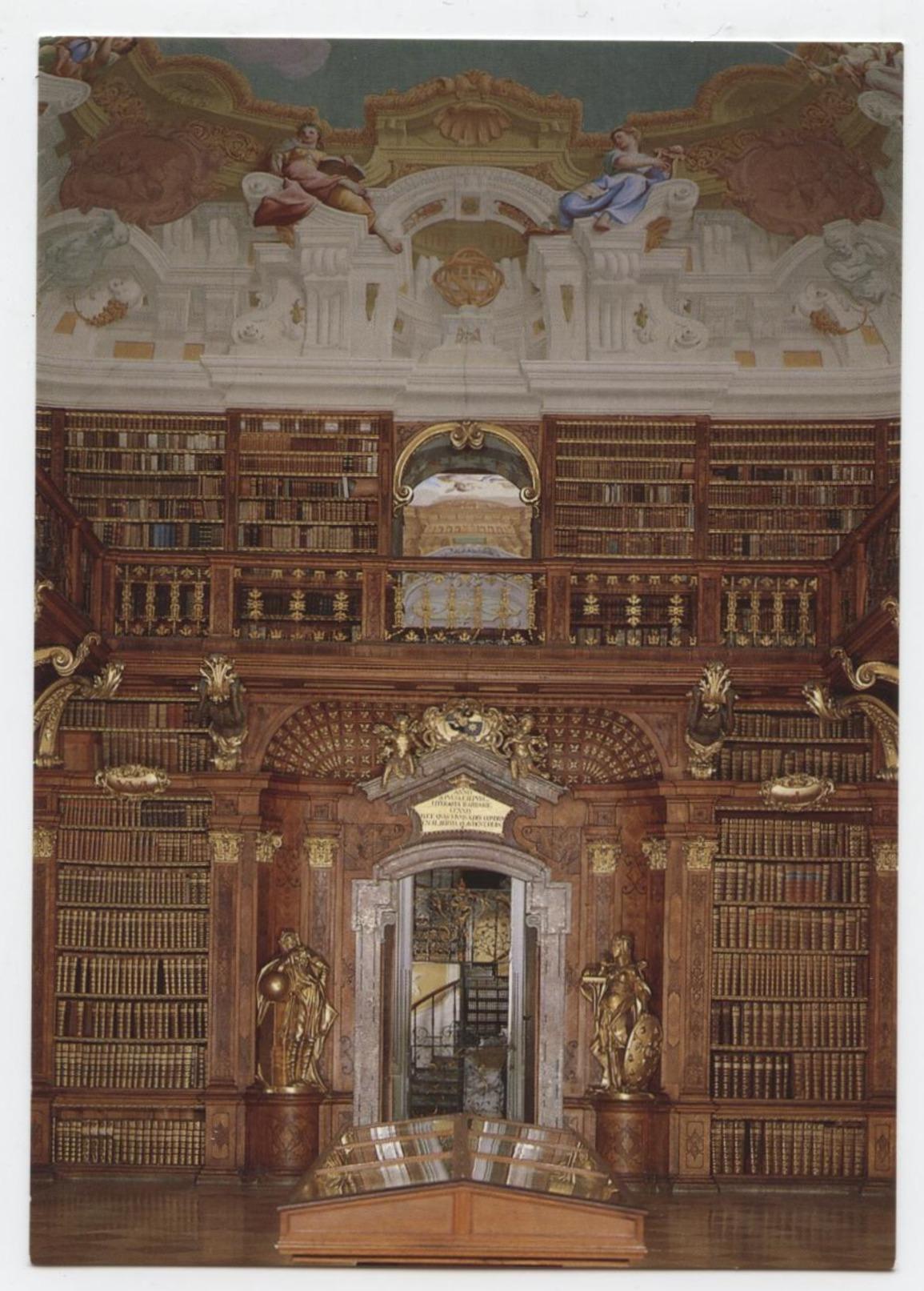 Stiftskirche MELK Bibliothek - Melk