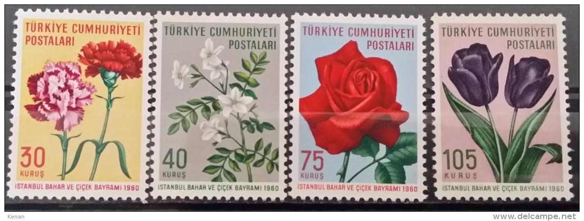 Turkey, 1960, Mi: 1735/38 (MNH) - Unused Stamps