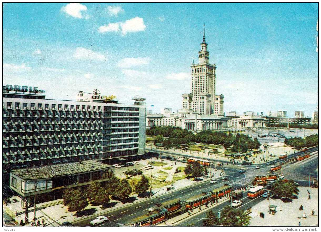 WARSCHAU - Karte Gel.1977 Nach Wien, Stempel Warszawa, Schöne Sondermarke, Ecken Betossen Siehe Scan - Polen