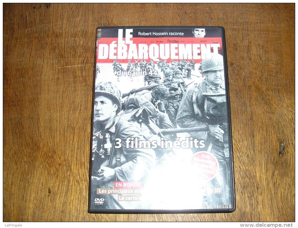 """DVD Reportages De Guerre,images D´archives ,""""Le Debarquement Du 6 Juin 1944"""" - 1939-45"""