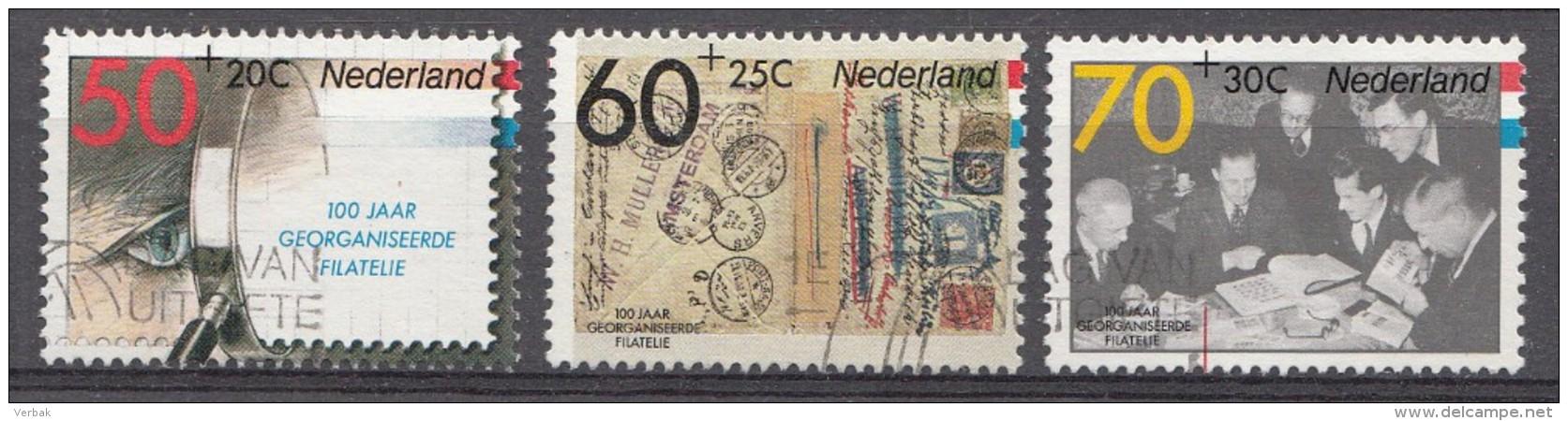 Pays-Bas 1984  Mi.nr.: 1253-1255 Intern.Briefmarkenausstellung FILACENTO  Oblitérés / Used / Gestempeld - Gebruikt