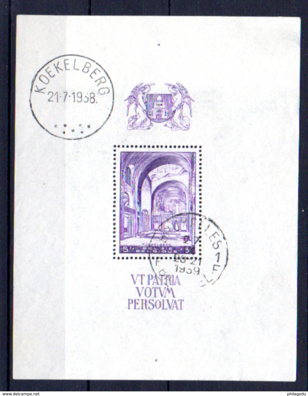Basilique De Koekelberg, Bf 9,  Cote 16 €, - Blocks & Sheetlets 1924-1960