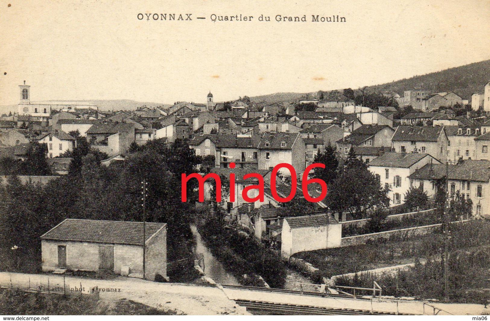 OYONNAX   Quartier Du Grand Moulin - Oyonnax