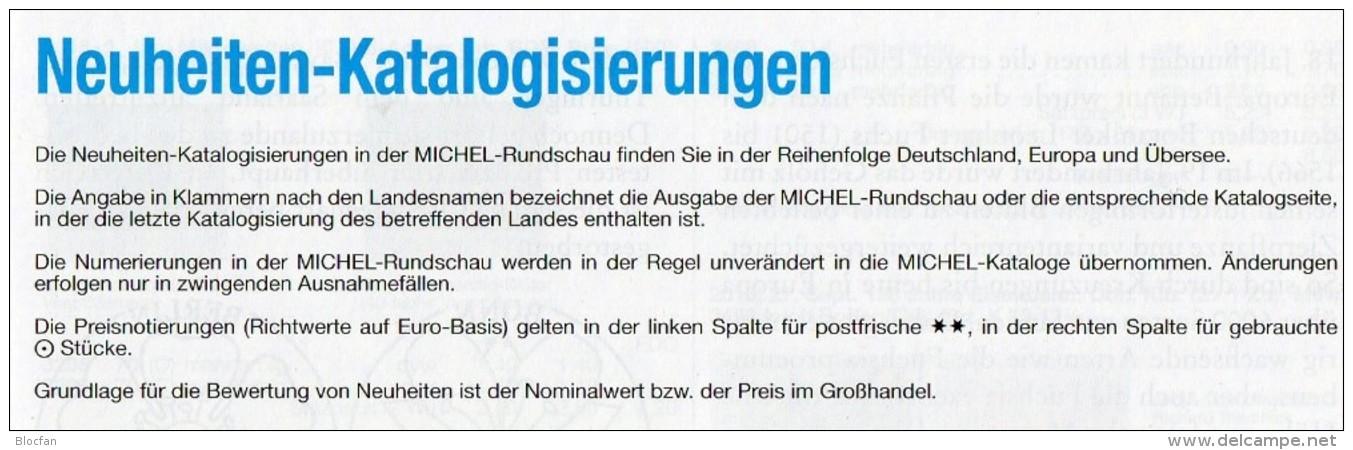 MICHEL Briefmarken Rundschau 9/2016 Neu 6€ New Stamps Of The World Catalogue/magacine Of Germany ISBN 978-3-95402-600-5 - Deutsch