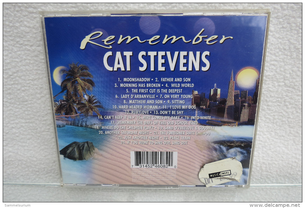 """CD """"Remember The Ultimate Collection"""" Cat Stevens - Collectors"""