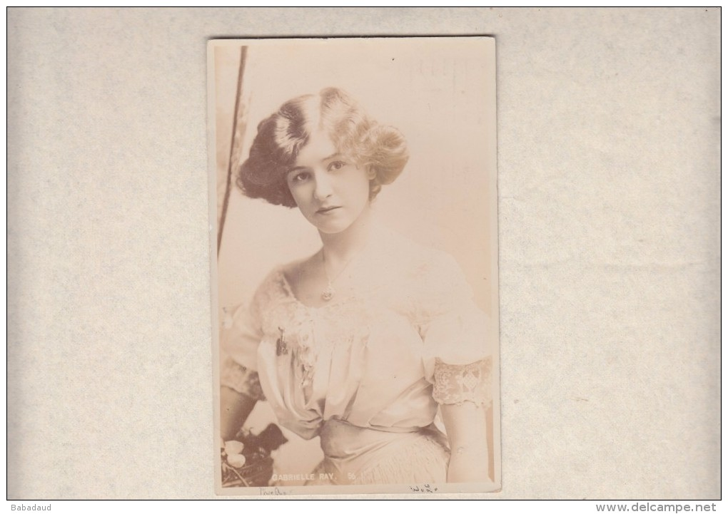Gabriele Ray Photo, Used LONDON  E R Cancel1905 - Entertainers