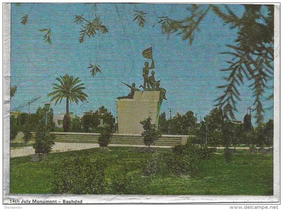 Y2245 Baghdad - 14th July Monument / Non Viaggiata - Iraq