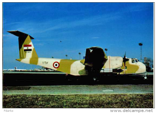 Egyptian Air Force DHC-5D Buffalo 1167/SU-BFG Militari Military Aircraft Avions Militaires Egitto - Elicotteri
