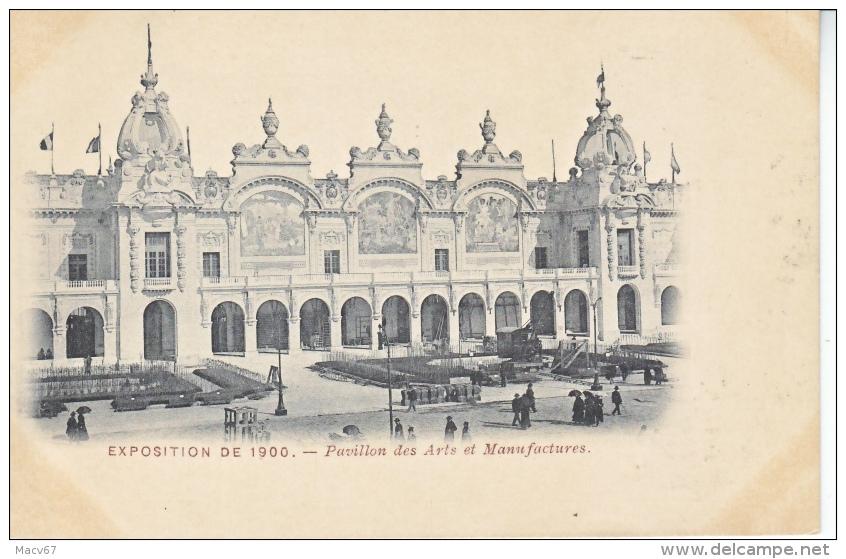 CPA     PARIS  EXPO   1900   PAVILLON  DES  ARTS  ET  MANUFACTURES   * - 1900 – Paris (Frankreich)