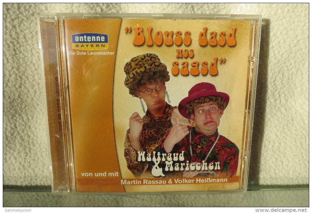 """CD """"Waltraud & Mariechen"""" Blouss Dasd Wos Sagsd - Humor, Cabaret"""