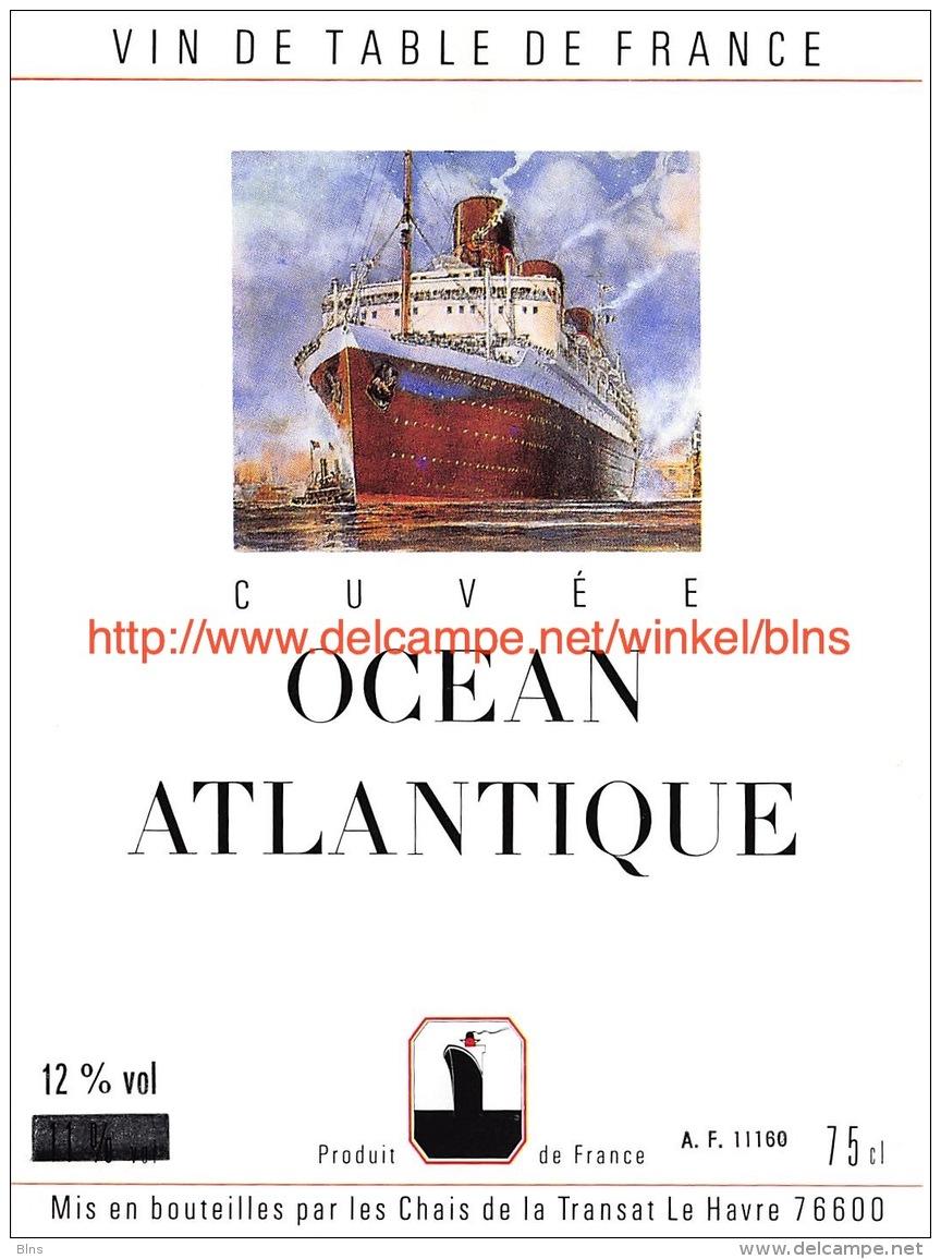 Cuvée Océan Atlantique - Bateaux