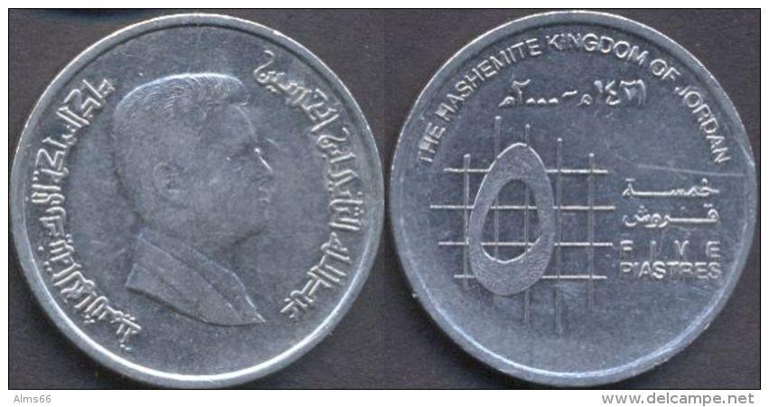Jordan 5 Piastres 2000 - 1421 VF - Jordanie