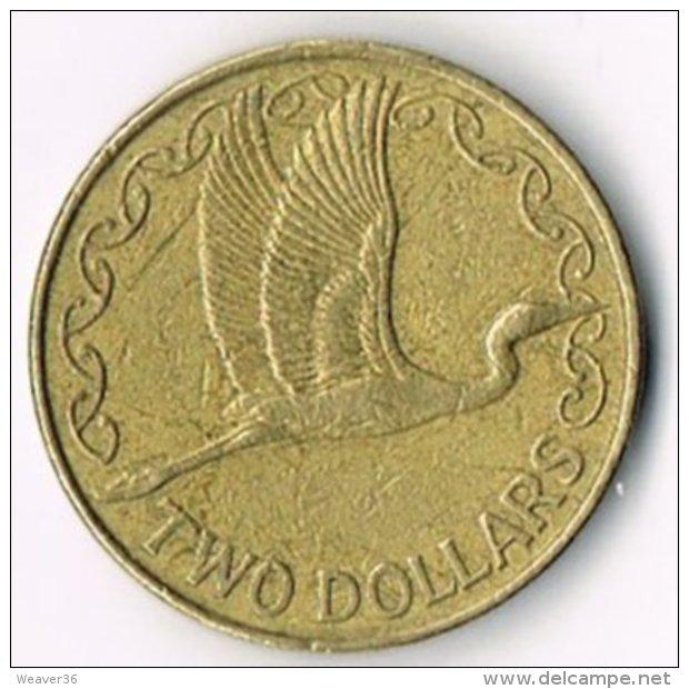 New Zealand 1990 $2 - New Zealand