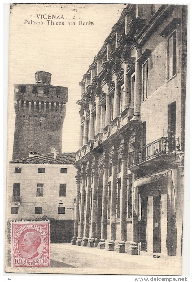 VICENZA Palazzo Thiene Ora Bonin - TTB - Venezia