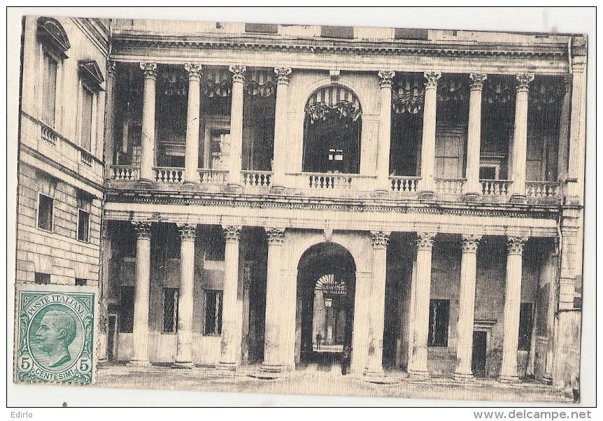 VICENZA Prospetto Interno Del Palazzo Thiene TTBE - Venezia