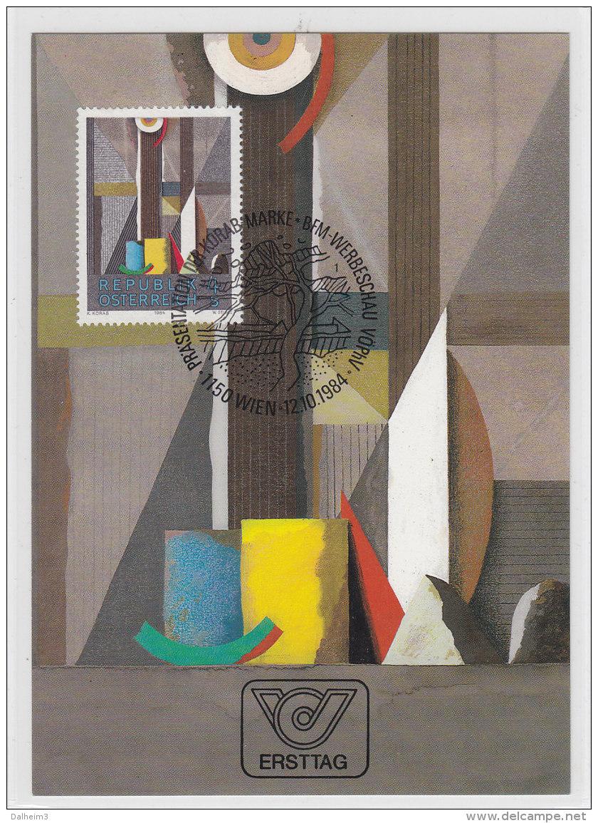 Österreich 1984 Nr. 1793 - Moderne Kunst In Österreich - Maximum Karte MC - Maximumkaarten