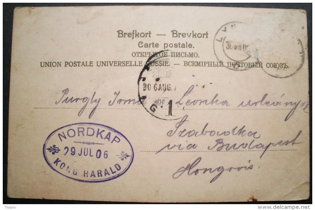 NORWAY - NORDKAP -SS KONG HARALD - 1906 - DAR - Norwegen
