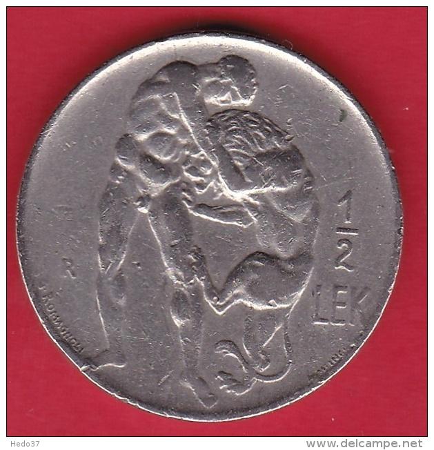 Albanie - 1/2 Lek - 1926 - Albania