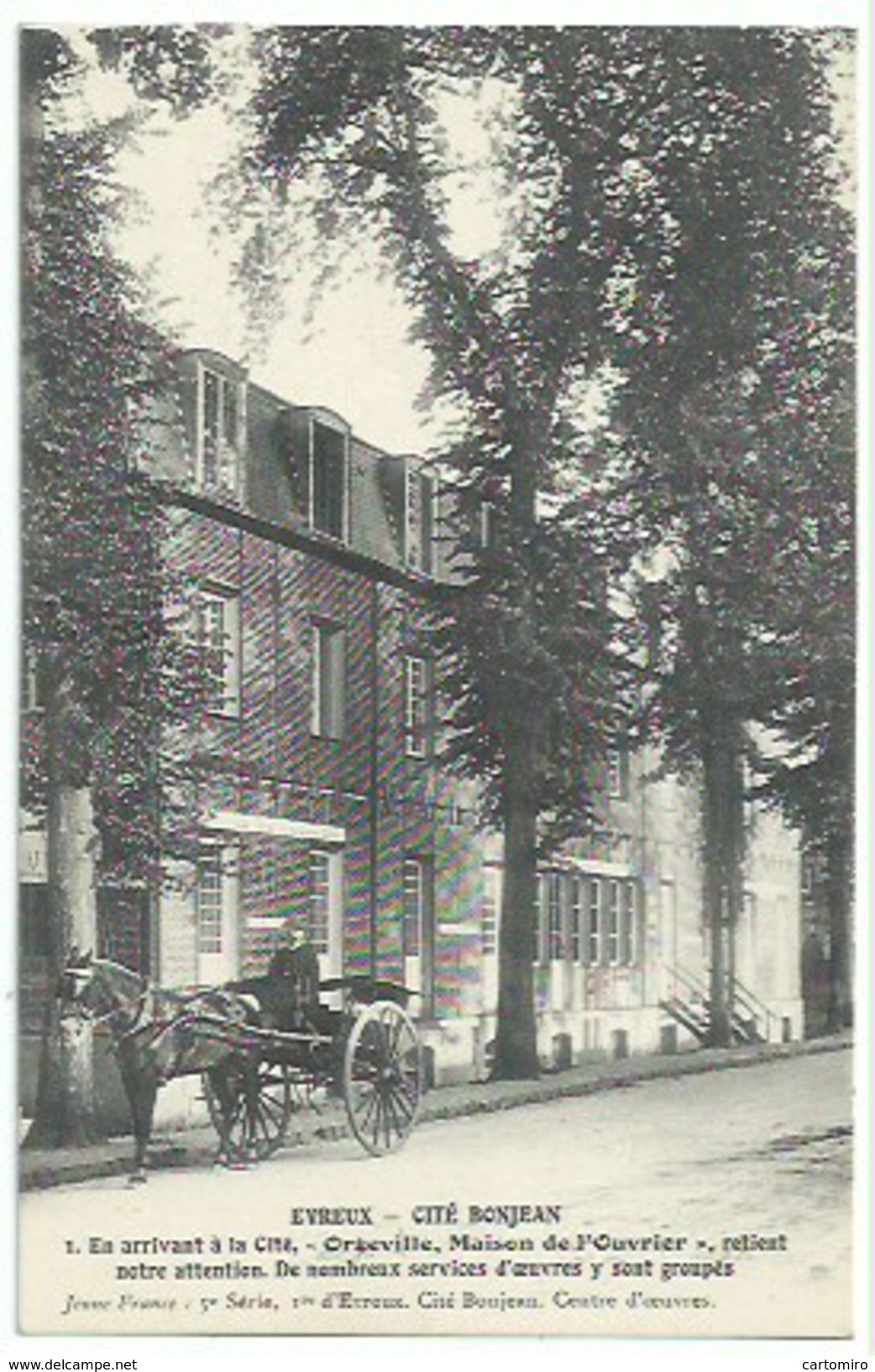 27 Evreux - Cité Bonjean - Evreux