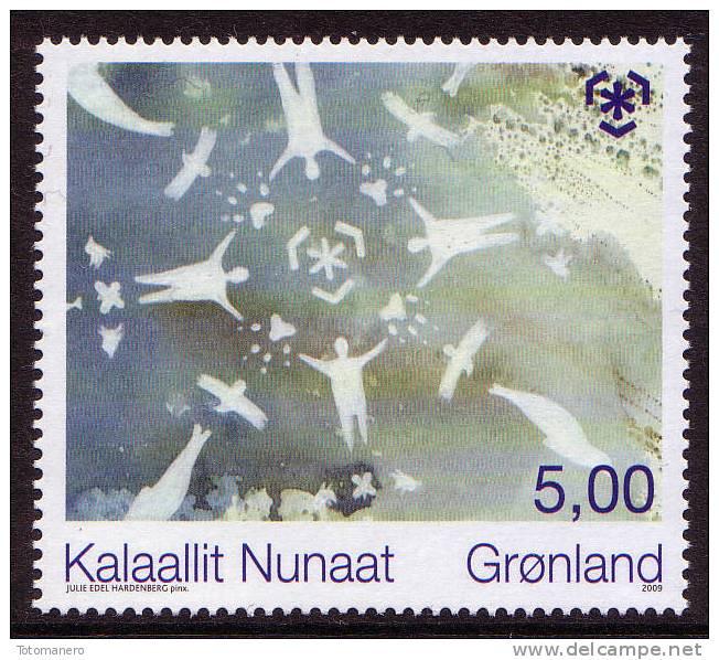 GREENLAND/Grönland 2009 - IPY Global Warming, Preserve The Polar Regions And Glaciers, 1v** - Preservare Le Regioni Polari E Ghiacciai