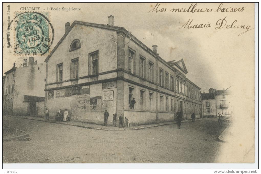 CHARMES - L'École Supérieure - Charmes