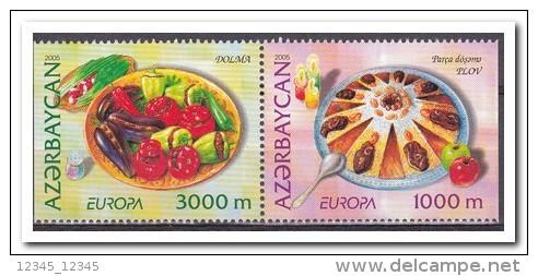 Azerbeidzjan 2005 Postfris MNH, 2 Sided Imperforated Stamp, Europe, Food - Azerbeidzjan