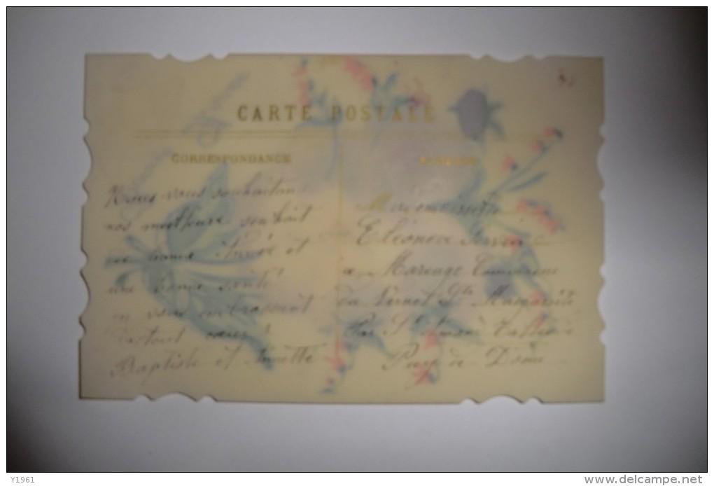 CPA BRODEE 1920 1930. Brodée, Bonne Année. - Brodées