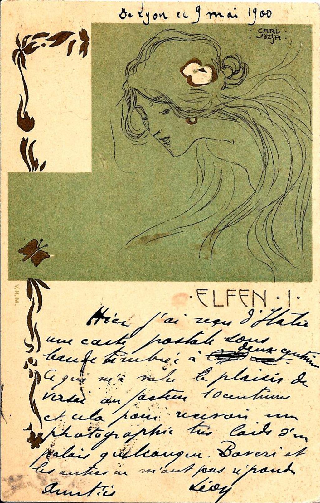 Carl Josza -Elfen I - Altre Illustrazioni
