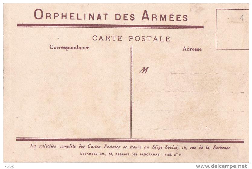 """Be - Cpa Illustrée """"Le Général"""" - Orphelinat Des Armées - Umoristiche"""