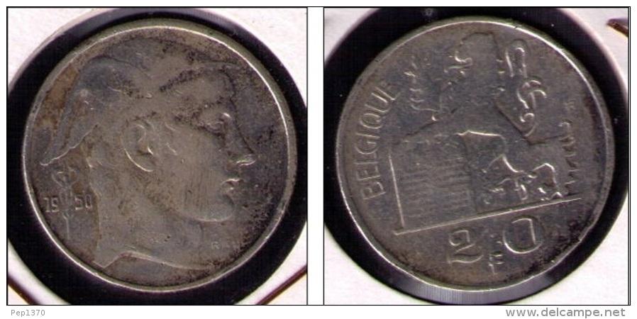 BELGICA - MONEDA DE 20 FRANCOS DE PLATA (SILVER) DE 1950 - 04. 20 Francos