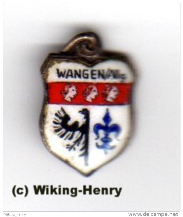 Wangen Im Allgäu - Wappen Anhänger Für Bettelarmband - Souvenirs