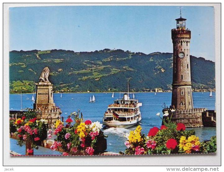 Lindau Im  Bodensee /  / Lake Ship - Lindau A. Bodensee