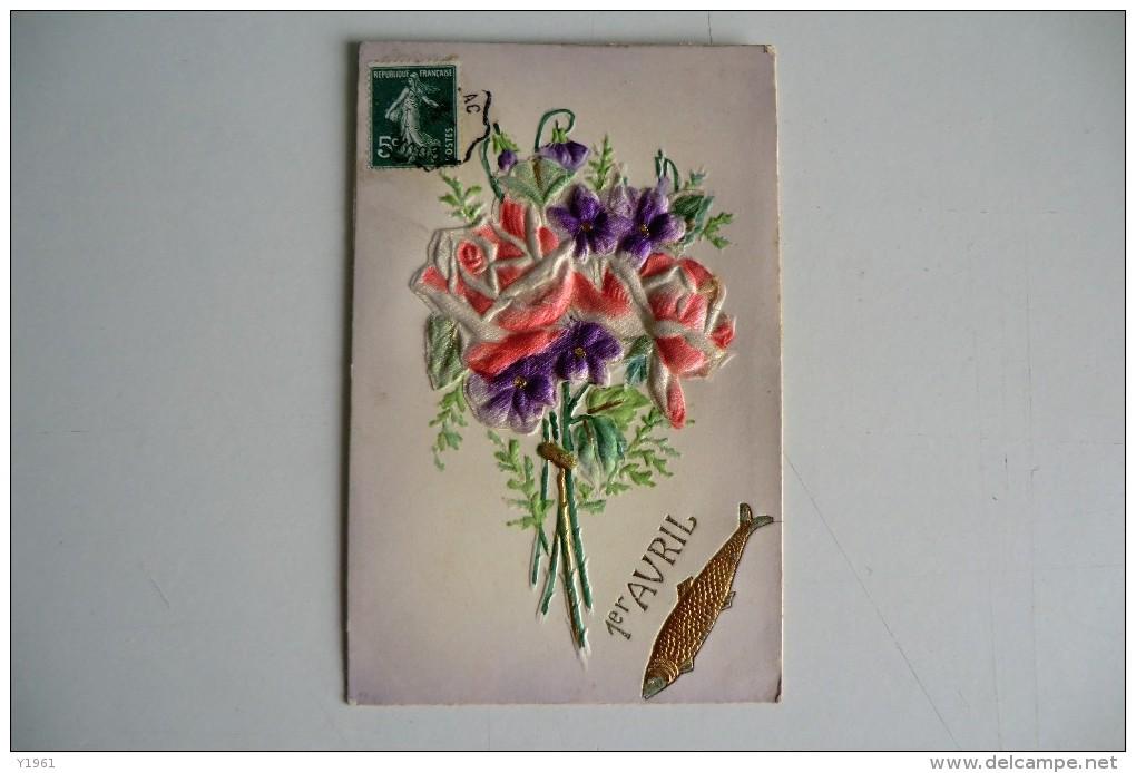 CPA BRODEE 1920 1930. Brodée, 1er Avril. - Brodées