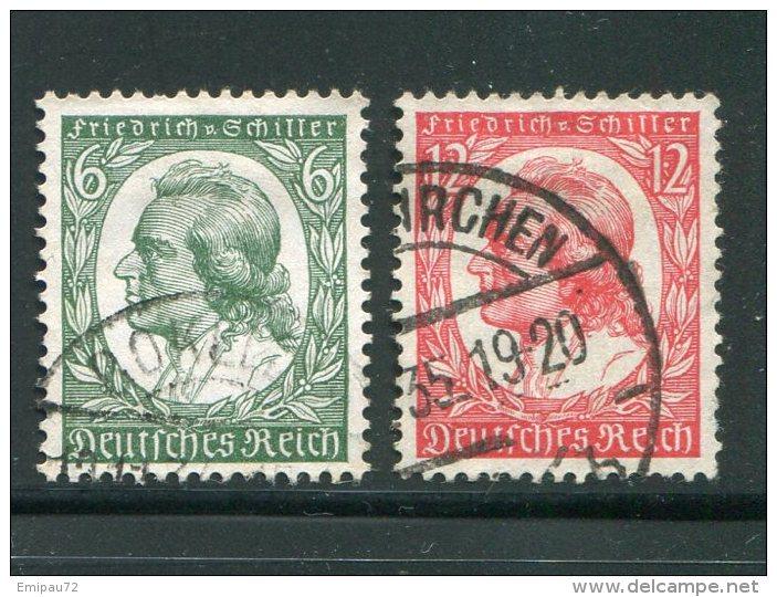 ALLEMAGNE- EMPIRE- Y&T N°522 Et 523- Oblitérés - Allemagne