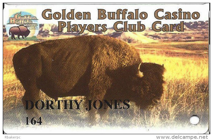 Golden Buffalo Casino - Lower Brule, SD - Slot Card - Casino Cards