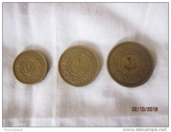 Yemen: Lot De 3 Monnaies 1963 (1/2, 1 & 2 Bushqa) - Yémen