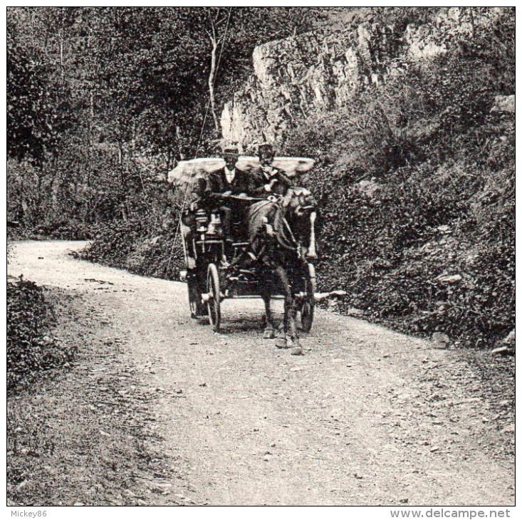 CUSSET--Les Malavaux--Le Gué (animée,attelage,passerelle) N° 389  éd  MTIL...............à Saisir - Andere Gemeenten