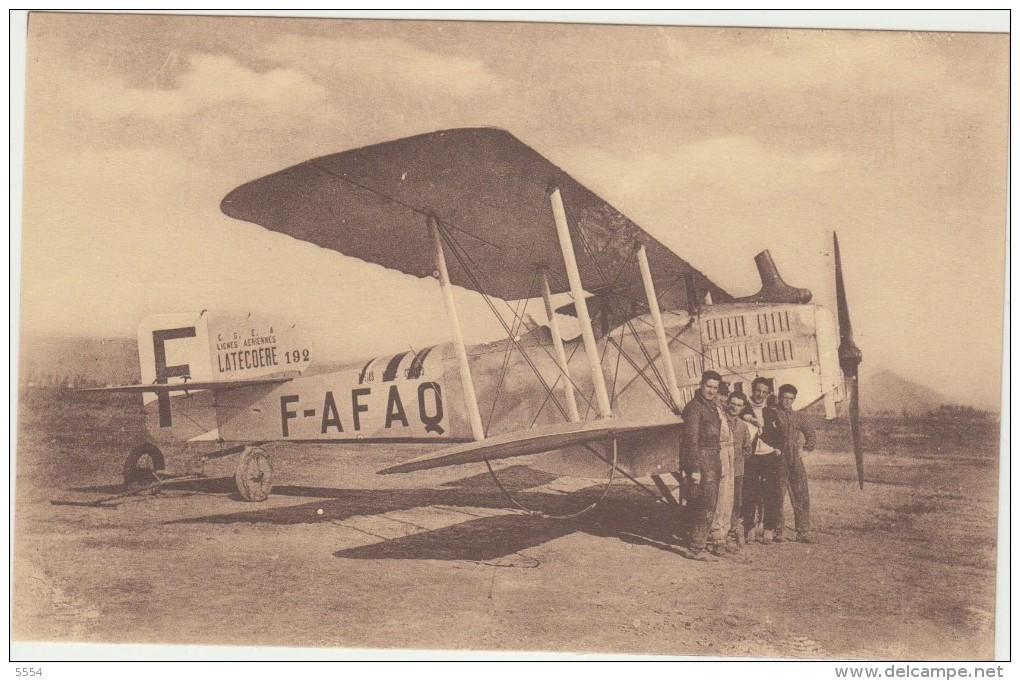 Aviation Avion Latecoere 192  F-AFAQ - 1919-1938