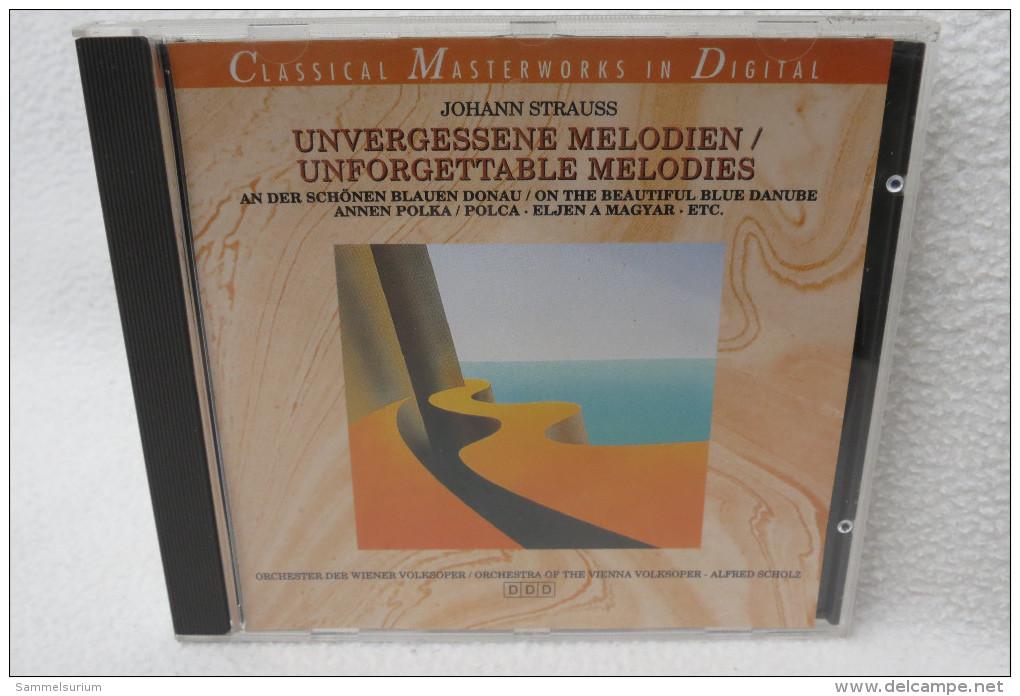 "CD ""Johann Strauss"" Unvergessene Melodien - Oper & Operette"