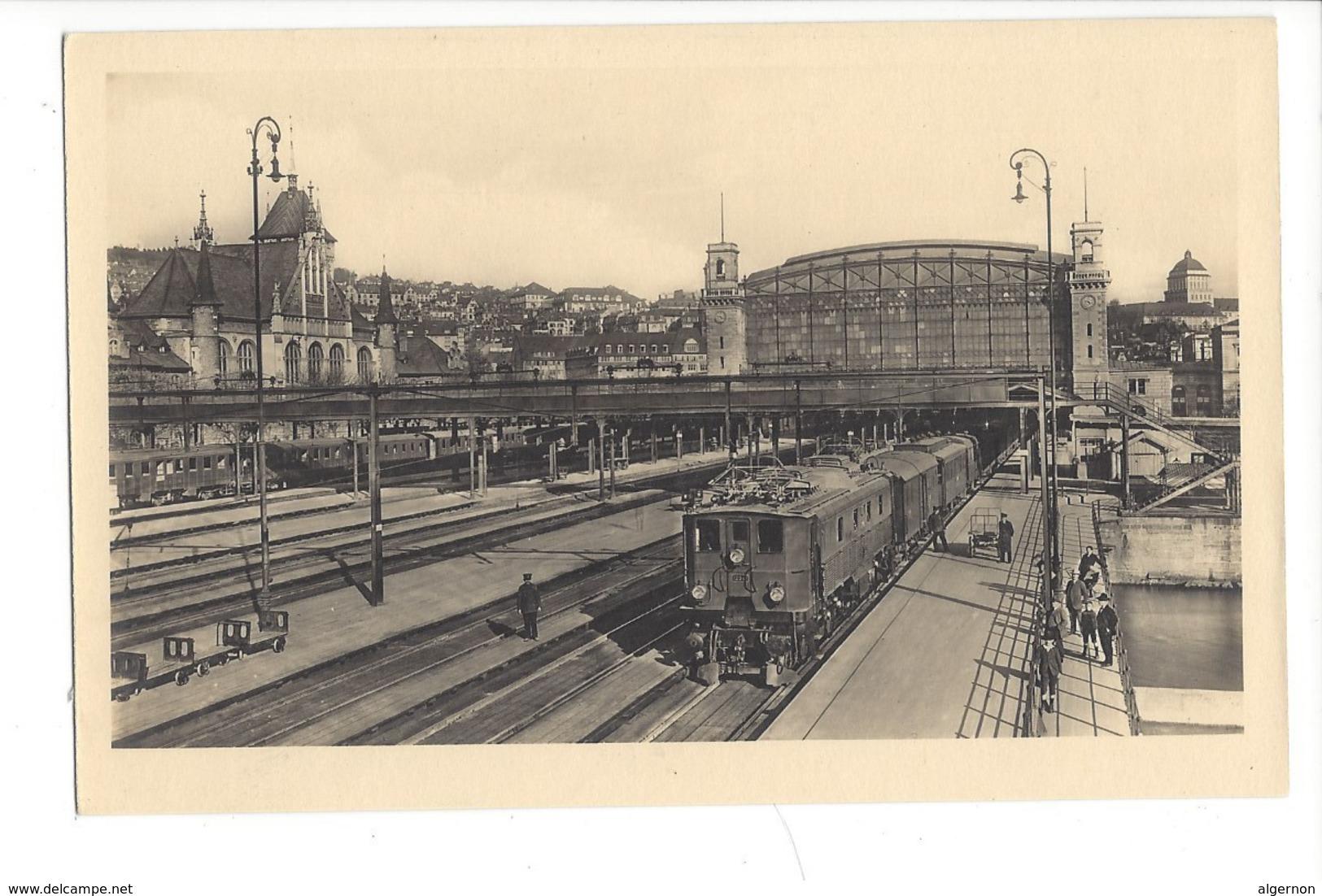 15604 - Elektrifikation Der Schweizerischen Bundesbahnen Bahnhof Zürich Train - ZH Zurich