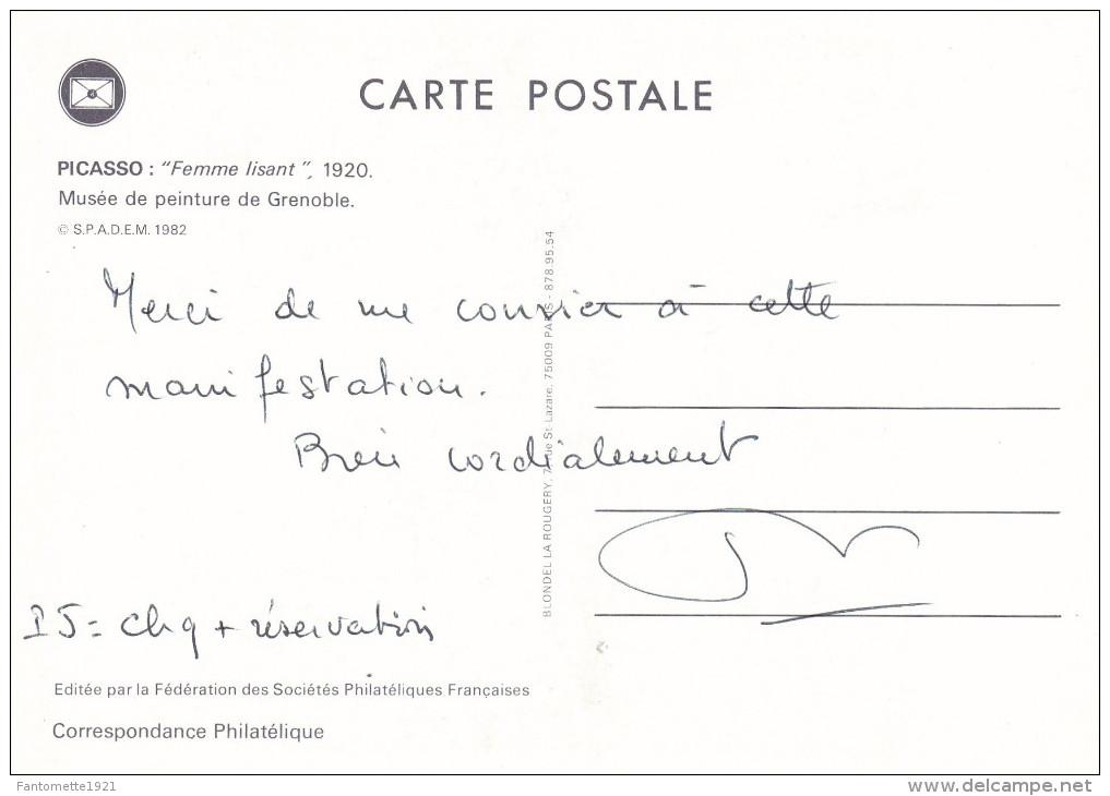 JOURNEE DU TIMBRE 1982 (dil275) - Timbres (représentations)