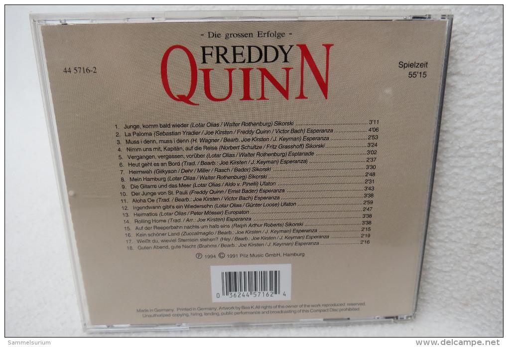 "CD ""Freddy Quinn"" Die Grossen Erfolge - Musik & Instrumente"