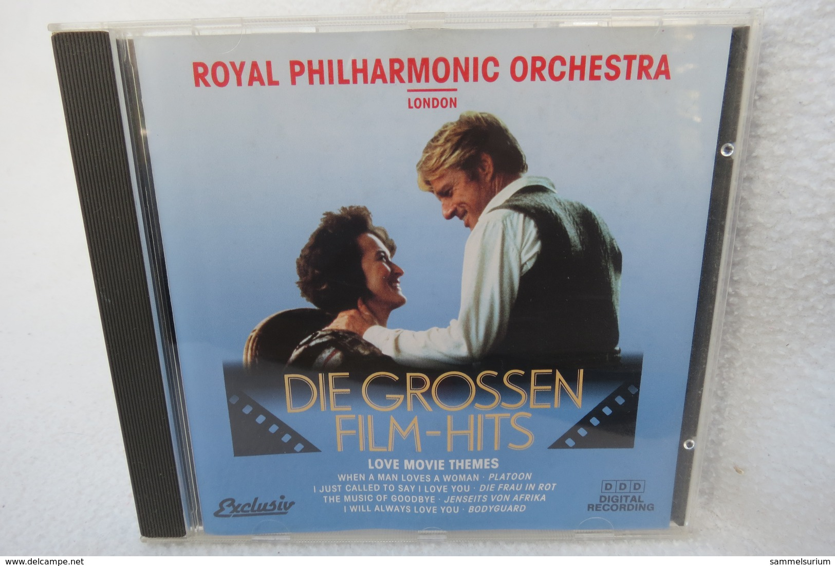 "CD ""Die Grossen Film-Hits"" Love Movie Themes, Royal Philharmonic Orchestra - Filmmusik"