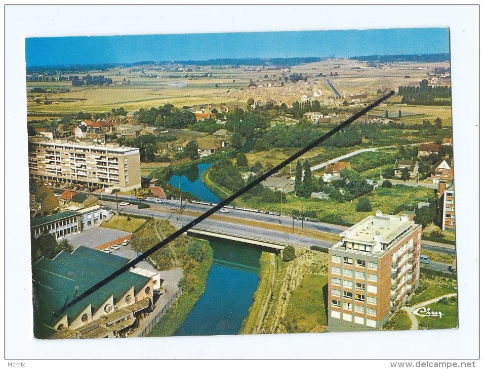 CPM  -  Marcq En Baroeul  -  Vue Aérienne - Le Pont De L'Avenue Foch - Marcq En Baroeul