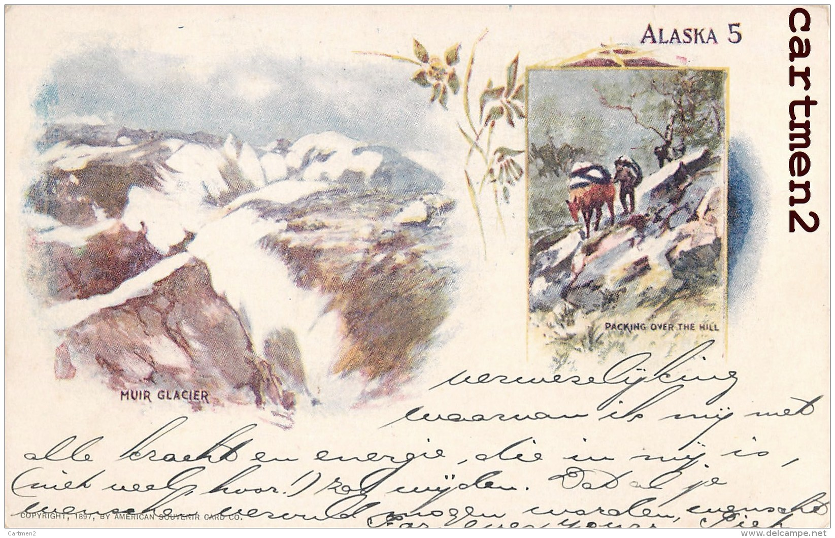 ALASKA GLACIER PACKING 1900 UNITED-STATES - United States