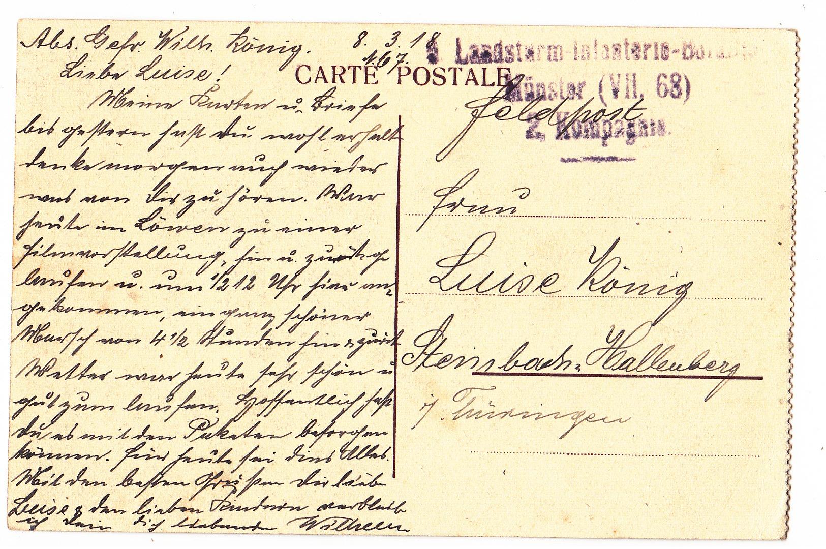 Everberg: Château Du Comte Jean De Mérode. (Erster Weltkrieg, 1918) - Kortenberg