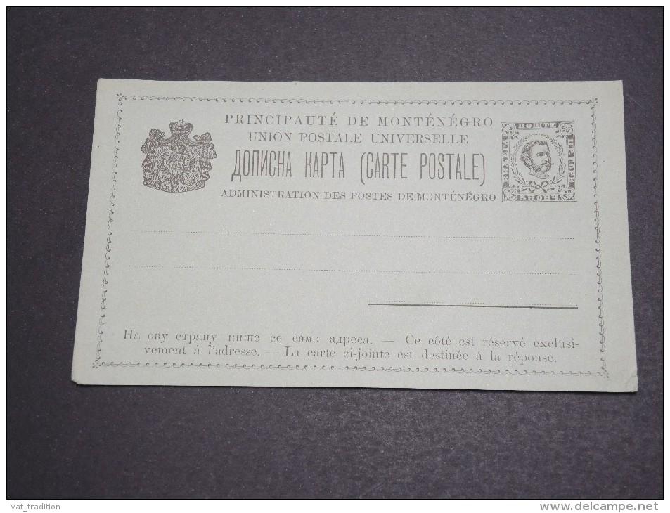 MONTÉNÉGRO - Entier Postal Non Voyagé - A Voir - L  4052 - Montenegro